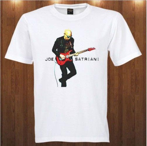JOE SATRIANI American Instrumental Rock Men/'s T-Shirt 100/% Cotton