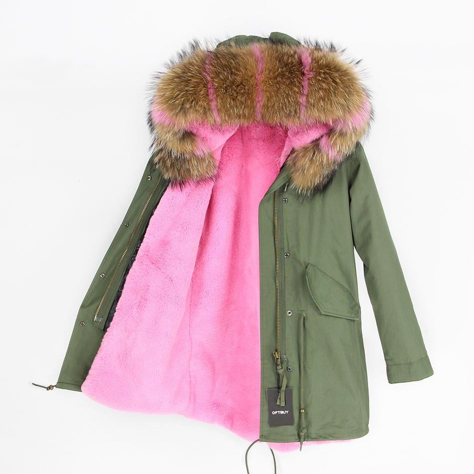 Green Parka With Real Fur