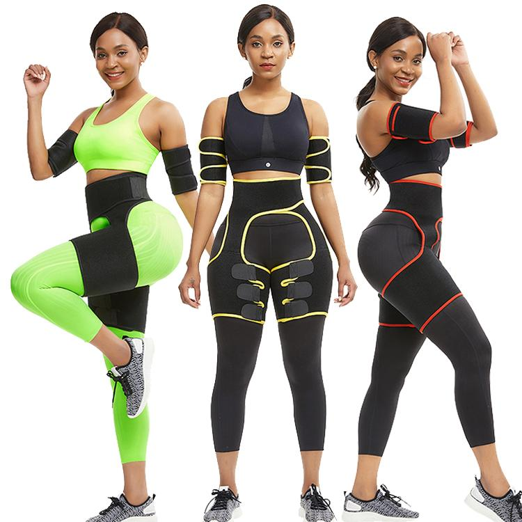 Butt kaldırıcı Artırıcı Kalça Bacak Kol Shaper Yağ Yakma Kadınlar Neopren Bel Trainer Private label Shapewear