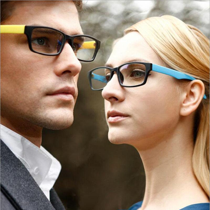 FEISHINI Cheap Multicolor Texture Glasses Women Small Rectangle Eyewear Flexible Frame Student Eyeglasses Men Frames