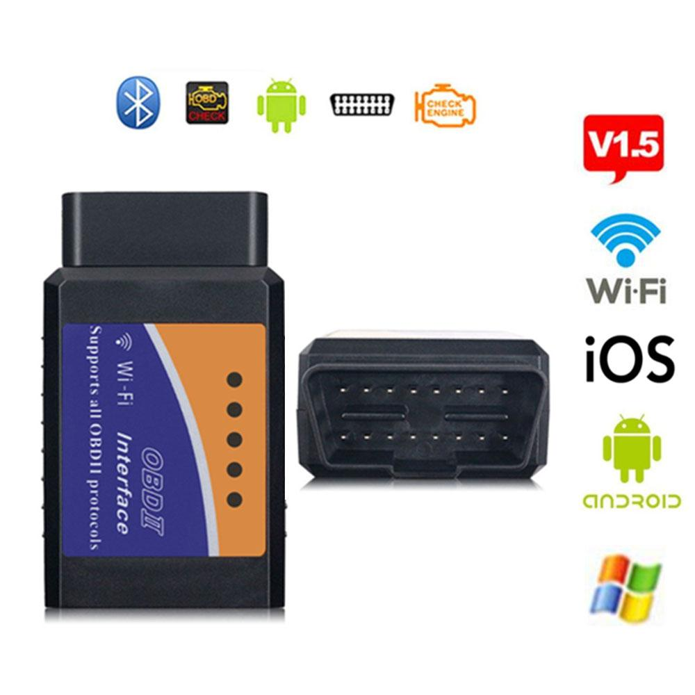 ELM327 V1.5 OBD2 Car Interface Diagnostic Scanner Tool For Android//IOS WIFI