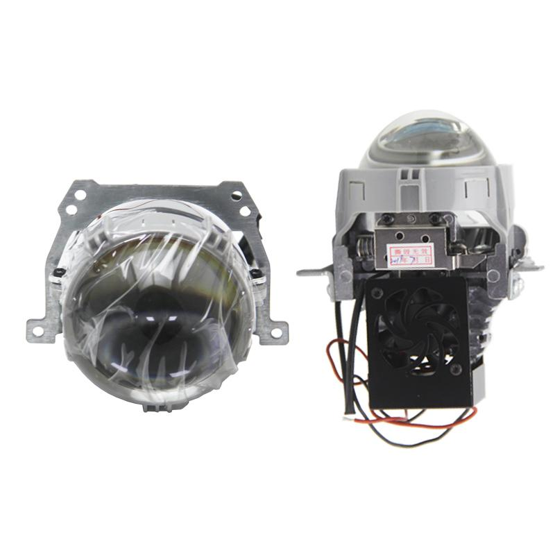 Bedehon 2 PCS 2,5 pouces bi-LED projecteur LED Retrofit automatique d'objectif pour les voitures Phares E39 E65, pour W126 W211, S205