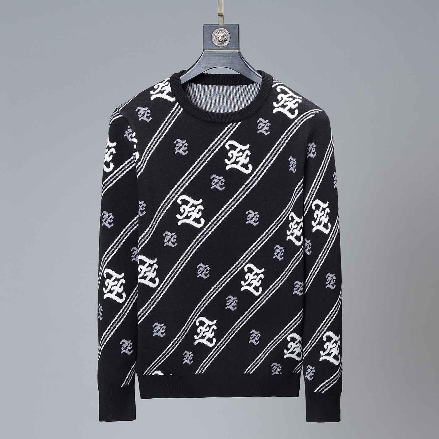 uomini di modo maglione di lusso e donne disegno del maglione del pullover lunga lettera manicotto della stampa ricamato maglione di formato abbigliamento invernale M-3XL