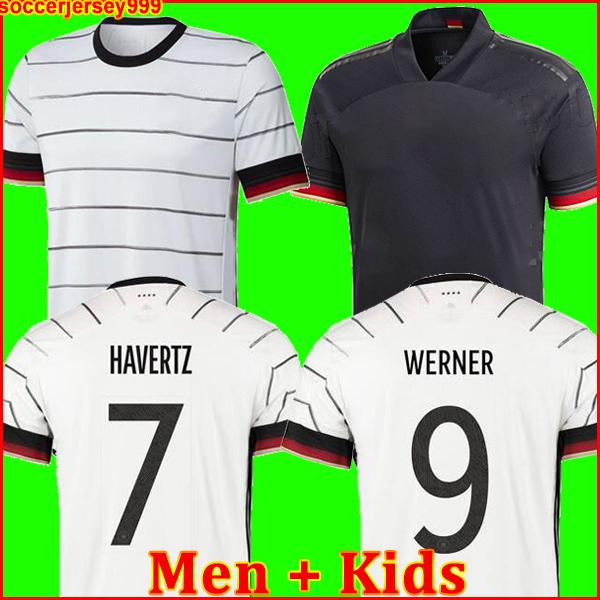 TOP 독일 2020 축구 저지 홈 키트 HUMMELS KROOS 드락 슬러 레 우스 MULLER GOTZE 유럽 컵 축구 셔츠 유니폼 남성 + 어린이는 999 KIT