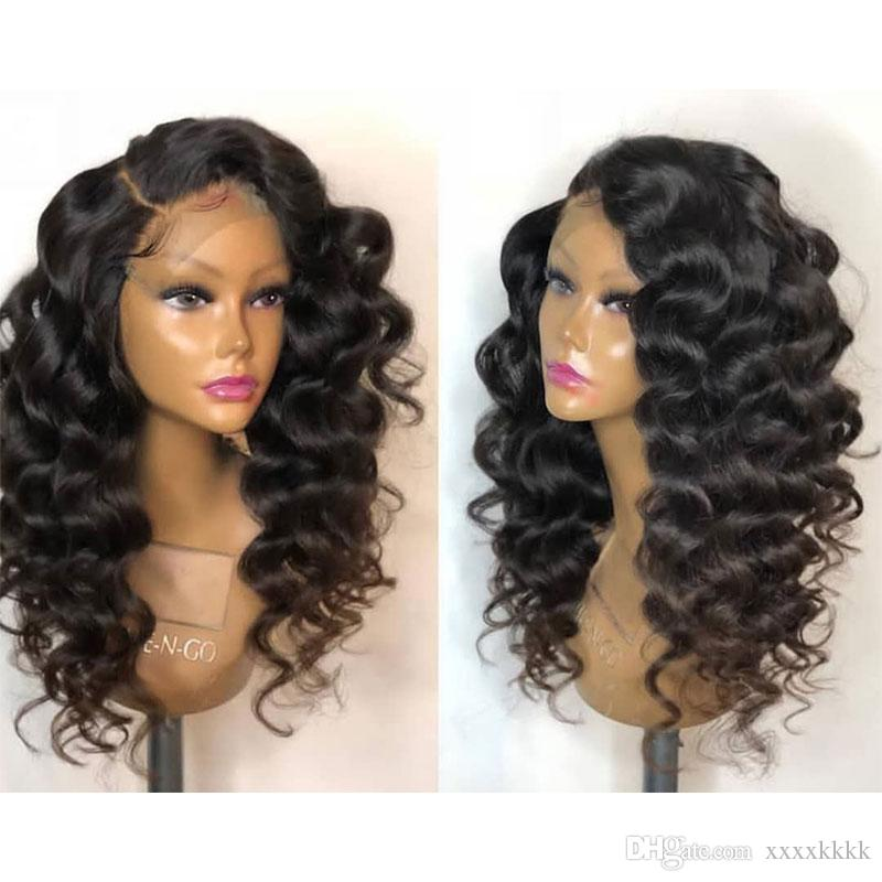 Pre Plucked Full Lace Human Hair Curly Wigs With Baby Hair 180 Density Deep Curly Lace Front Wigs For Black Women On Sale Wigs For Men Wigs For Kids From Xxxxkkkk 100 11