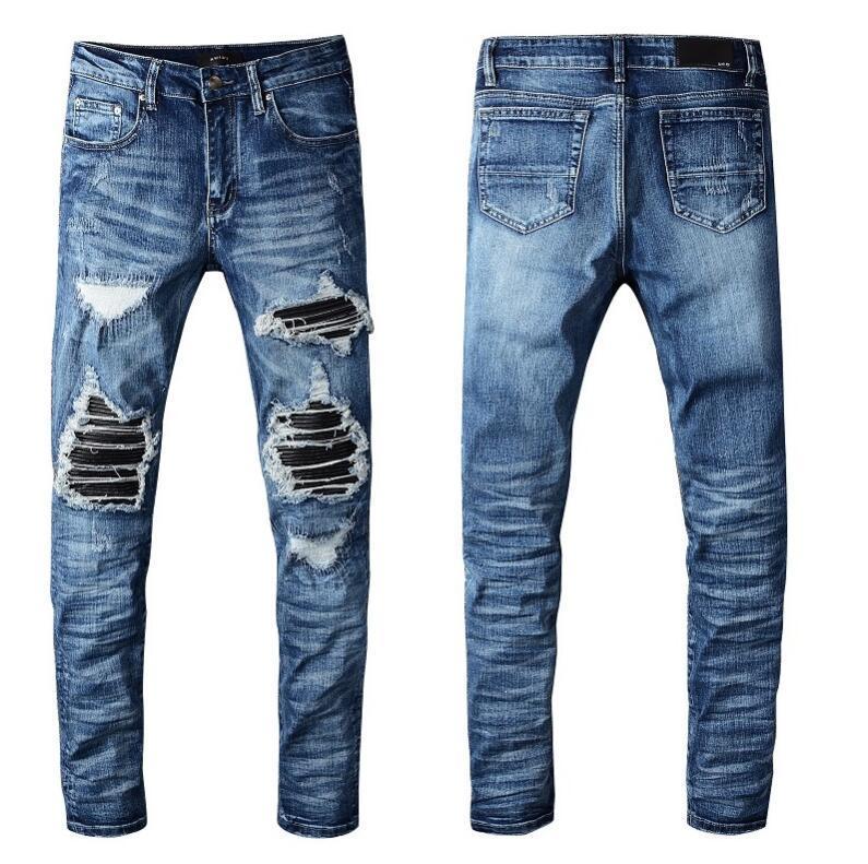 2020 Nouvelle arrivée Top Qualité Designer Hommes Jeans Denim Pantalons Broderie 40Size 28-40 15