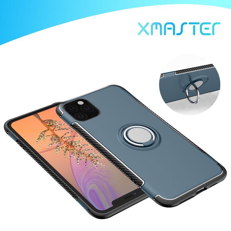 Для iPhone 11 Pro Max XS MAX XR X 8 Plus OnePlus 7 6T 5 Kickstand случая телефона противоударный мобильный телефон Обложка Shell xmaster