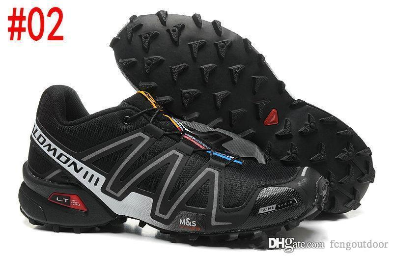 2019 sıcak solomon Hız Çapraz 3CS III Açık Erkek Kamuflaj Kırmızı Siyah Spor Ayakkabı 3 koşu ayakkabıları 40-46 fengoutdoor eur Hız Crosspeed mens