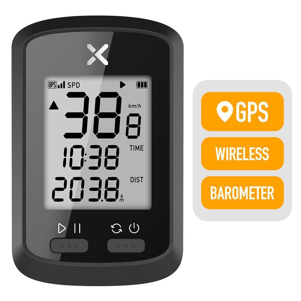 XOSS G 1,8-дюймовый GPS велосипедов Компьютер Водонепроницаемый Cadence Скорость беспроводной велокомпьютер Спидометр Bluetooth ANT + одометр