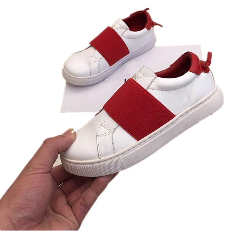 Givenchy 2020 nouveau concepteur série luxe marque extérieure imperméable chaussures pour enfants, chaussures sport pour enfants correspondance couleurs, pieds confortables