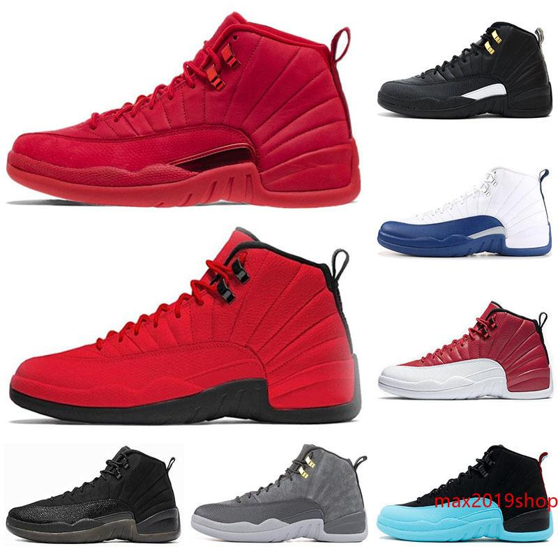 New arrival 12 12s men Basketball Shoes Sneakers black white PLAYOFF THE MASTER Gym red gamma blue 12s mens sports shoes 7-13