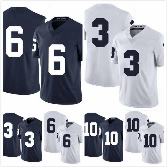 Özel Penn State Nittany Lions John Reid Jersey 29 Justin Shorter 6 Lance Dixon 10 Weston Carr 23 Donovan Johnson 3 Dikişli S-3XL
