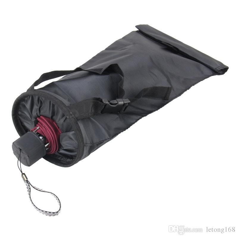 Sostenedor de la caja de la cubierta a prueba de agua bolsa de almacenamiento de coches de coches paraguas bolsa de almacenamiento multifunción plegable paraguas Organizador para los coches