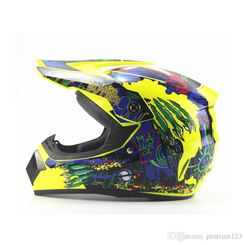 tam yüz motosiklet kask motokros yarış erkekler kadının LS2 Orijinal Çok renkli güneş siperliği Kasko capacete casque moto Maskesi