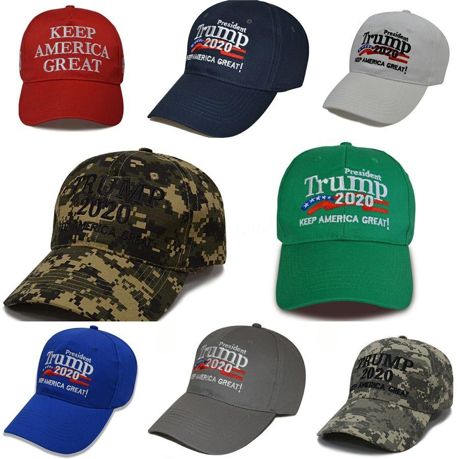 New Make America Great Encore une fois Caps Président de broderie Trump 2020 Base-ball Casquette adulte Mode Sport Chapeau Dhl gratuit # 861
