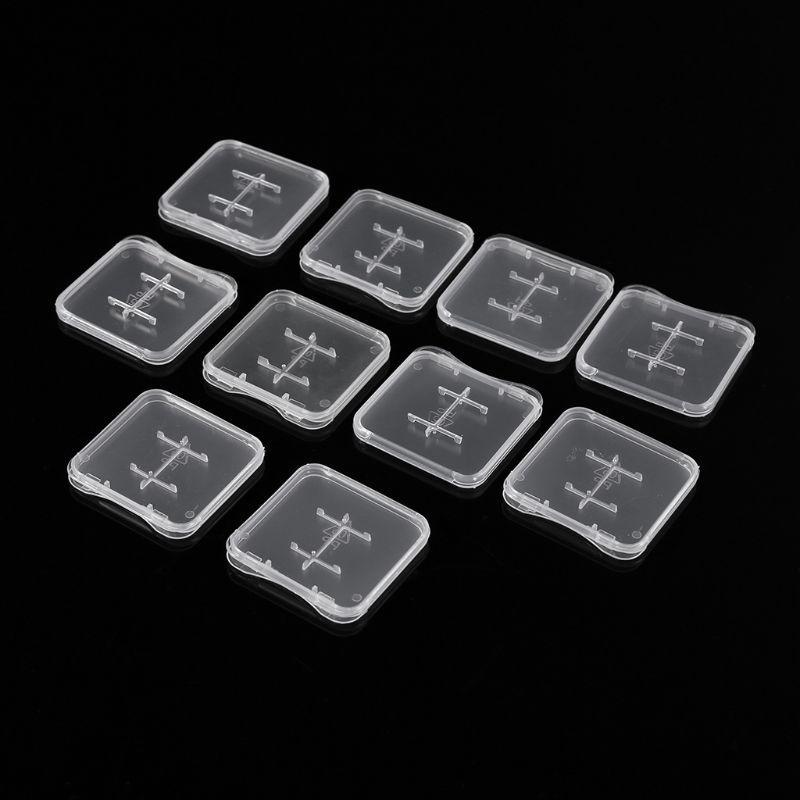 울트라 씬 슈퍼 슬림 플라스틱 TF 카드 + SD 어댑터 로얄 메일에 대한 1 메모리 카드 스토리지 박스 케이스에 최적의 사례 2