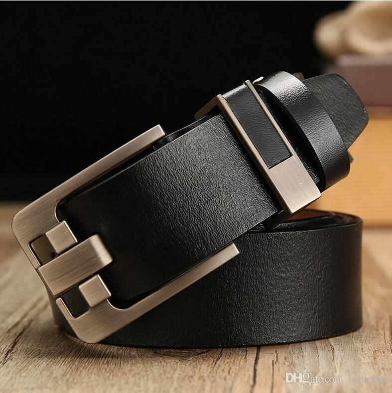 Free shipping 01 retro leather wide leather belt leather belt pin buckle casual wild belt men's