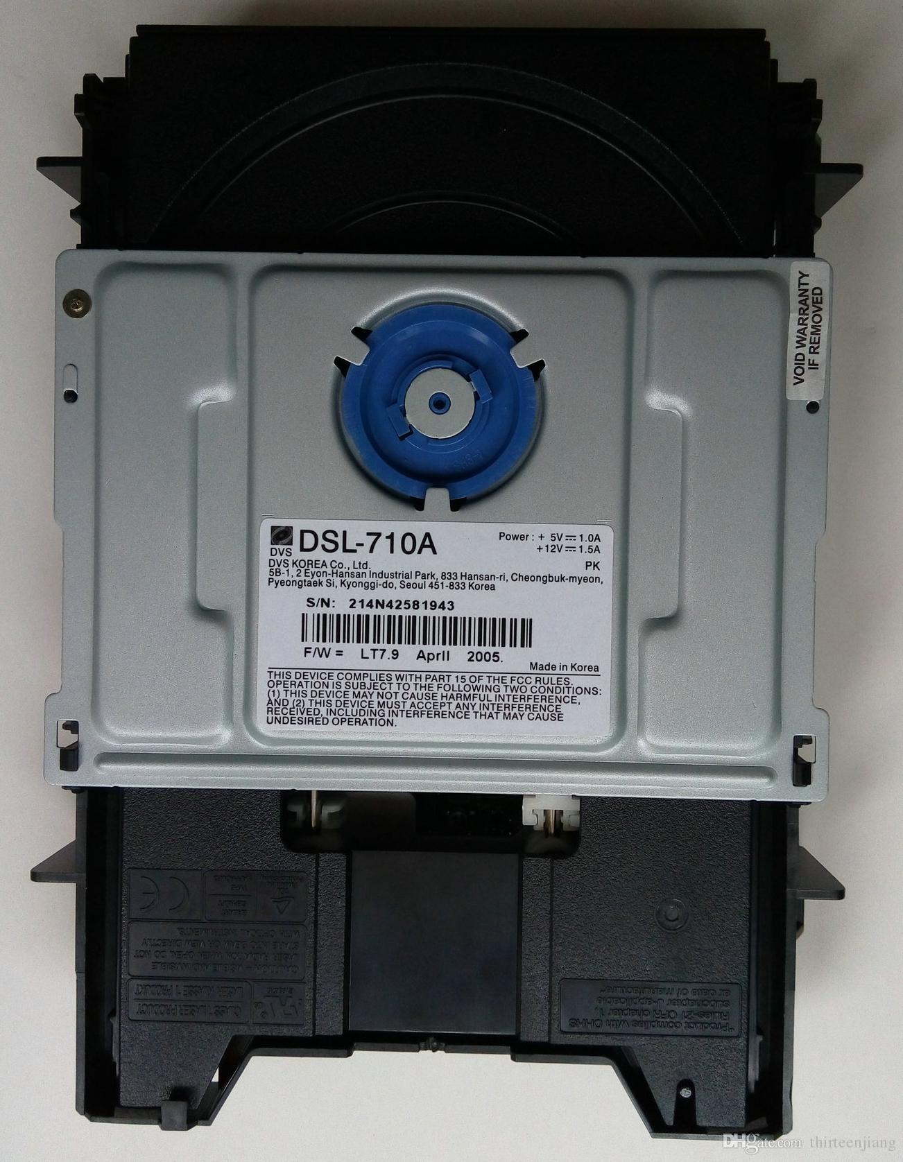 DVS DSL-710A Coreia do Sul Driver DVD DSL-710A usado por favor entre em contato conosco Verifique o estoque antes do pagamento