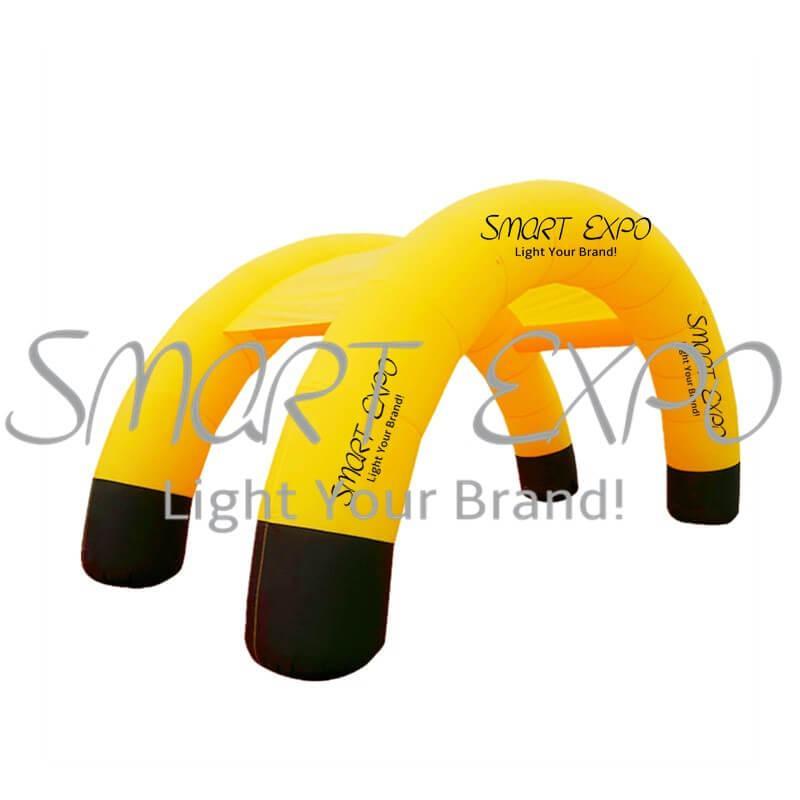 Store Front gonfiabile evento Ingresso ad arco gonfiabile Arco Tenda con stampa completa e Blower W10xH5 M