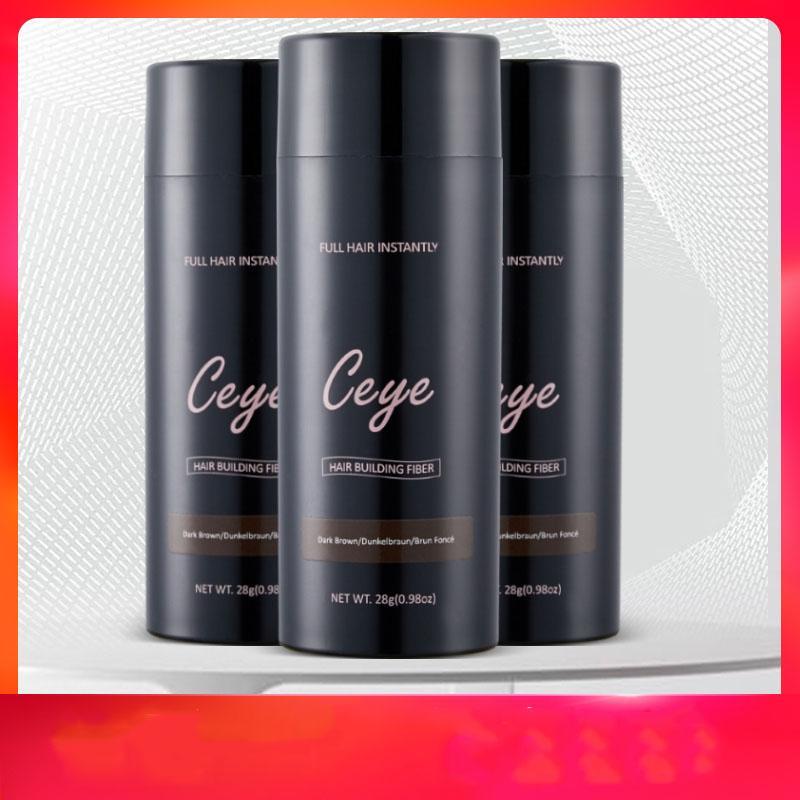 2020 chaude Fibres de construction cheveux noir Marque / dk brun naturel pulvérisation Dilution Kératine pleine Cheveux Solutions de perte