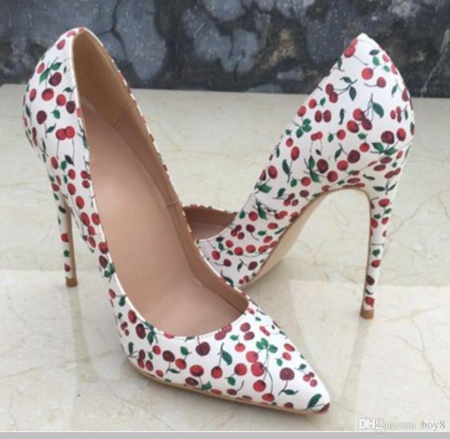 20 Дизайнер 8см 10см 12см женщин высокие каблуки красной подошвой нижней стороне моды заклепки девочек насосы заостренные Танцевальная обувь свадьба плюс размер 45 сандалии