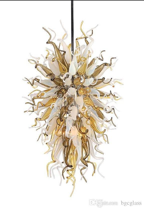 Итальянский стиль рука обдуваруются люстры люстры лампы на заказ цветные стеклянные подвески ручной работы подвесные светильники для отеля лобби