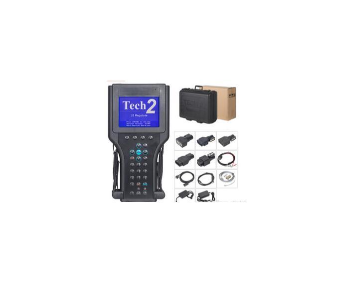 Más vendidos Novedades Para G * m Tech 2 Escáner para la herramienta de diagnóstico del Gm de alto rendimiento G-M Tech-2 con el envío libre de DHL con la caja de negro
