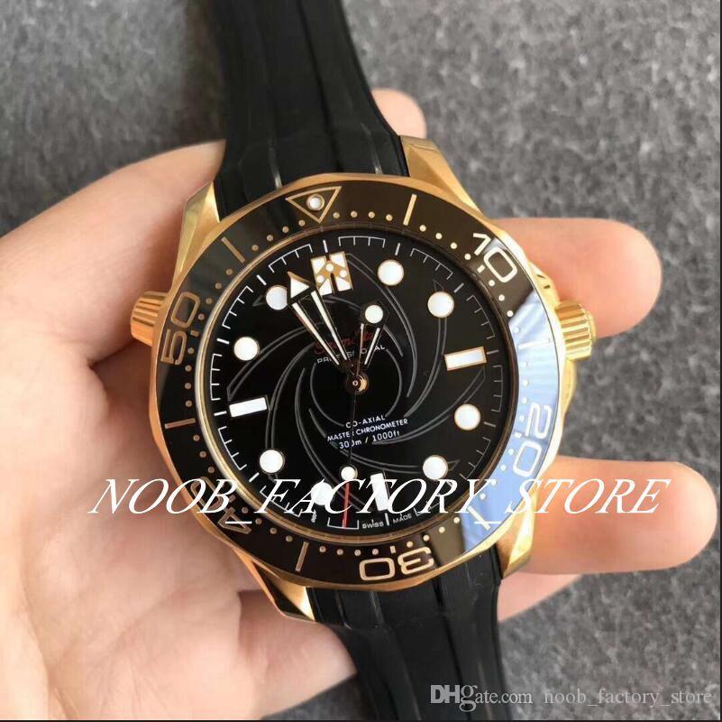 VS usine Cal.8807 Mouvement automatique 300m luxe 42mm Diver Montre Série 210.62.42.20.01.001 caoutchouc Bracelet Sapphire Montres-bracelets Montre Homme