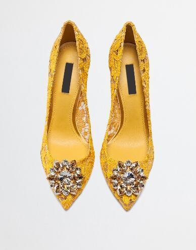 Hakiki deri kutusu ile feminen ayakkabı parti ayakkabı kayma-Hot satış-sivri burun elbise ayakkabı