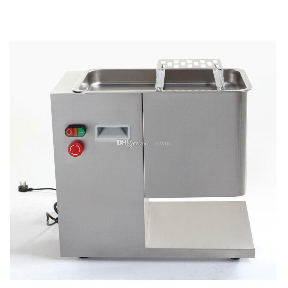 110V Commercial Electric fresh Meat cutter cutting machine, Butchery Electric Meat Shredder Slicer cutter For Restaurant Supermarket