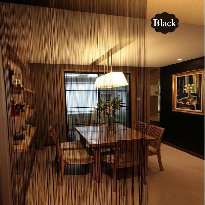 300x260cm forma piena di colore tende Stripe Bianco Grigio Classic Line cortina di finestra cieca Valance divisorio Porta decorativo