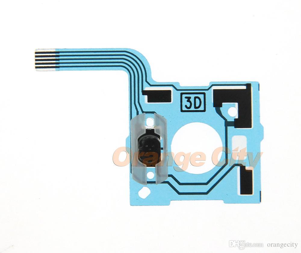 교체 버튼 리본 회로 기판 블루 전도성 필름 컨트롤러 키보드 플렉스 케이블 PCB에 대한 NS 스위치 3D 조이스틱 원래