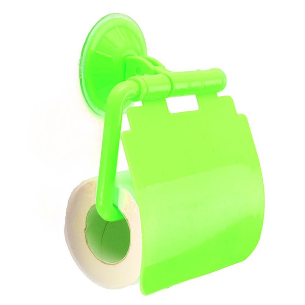 Wall Mounted plastic Bathroom Toilet Paper Holder With Cover porta papel higienico bathroom accessories #1020