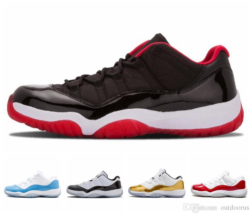 NIKE Concord 45 Platin Tonu Erkek Rahat Ayakkabılar 11 XI 11 s Kap ve Kıyafeti Tasarımcı Ayakkabı Uzay Reçel Heiress Gym Kırmızı Chicago Ayakkabı