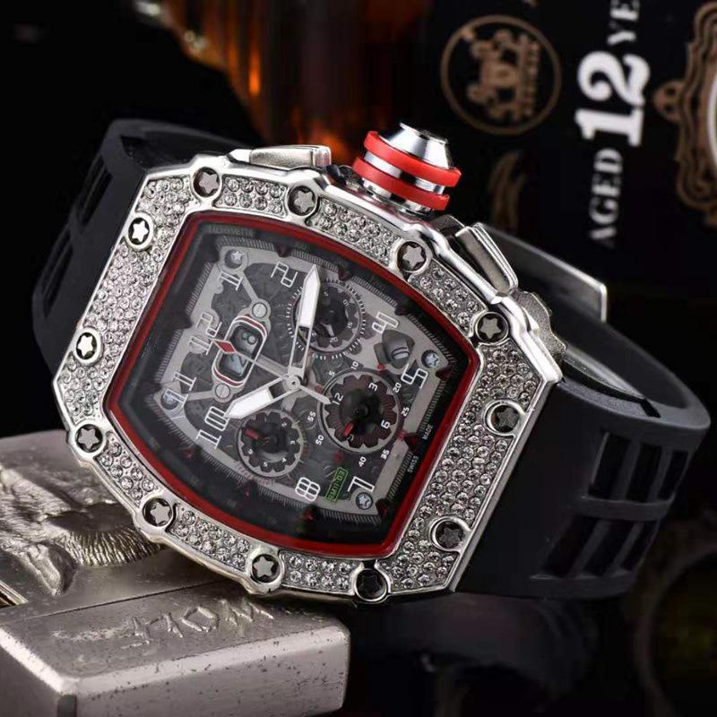 Außenhandel Cross Border E-Commerce Richard Serie Classic Uhrmens Diamant-Band-Quarz-Uhr
