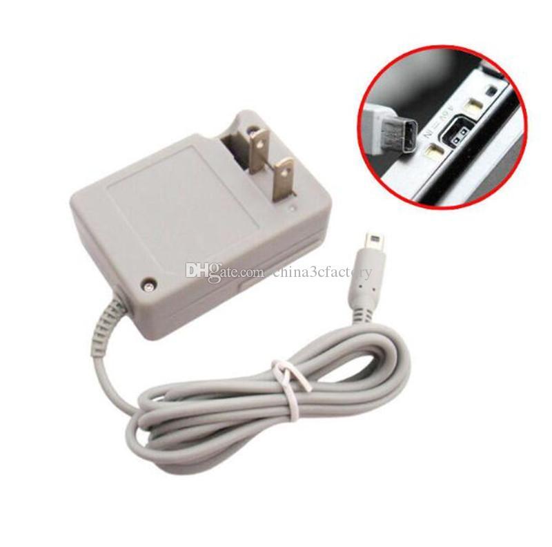 США 2-контактный разъем новое зарядное устройство адаптер переменного тока для Nintendo NDSI / 2DS / 3DS / 3DSXL / новый 3DS /новый