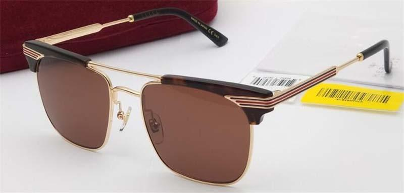 Luxo-New designer de moda óculos de sol olho de gato 0287 quadro estilo bestselling simples qualidade superior uv 400 óculos de proteção com caixa original