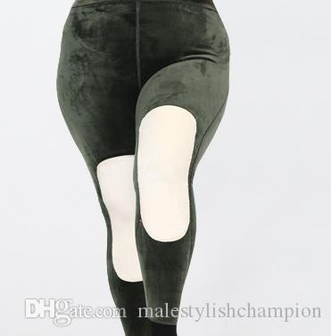 Winter Damen-Hosen Deisgner Plus-Size Slim Hose Mode für Frauen starke warme Hosen