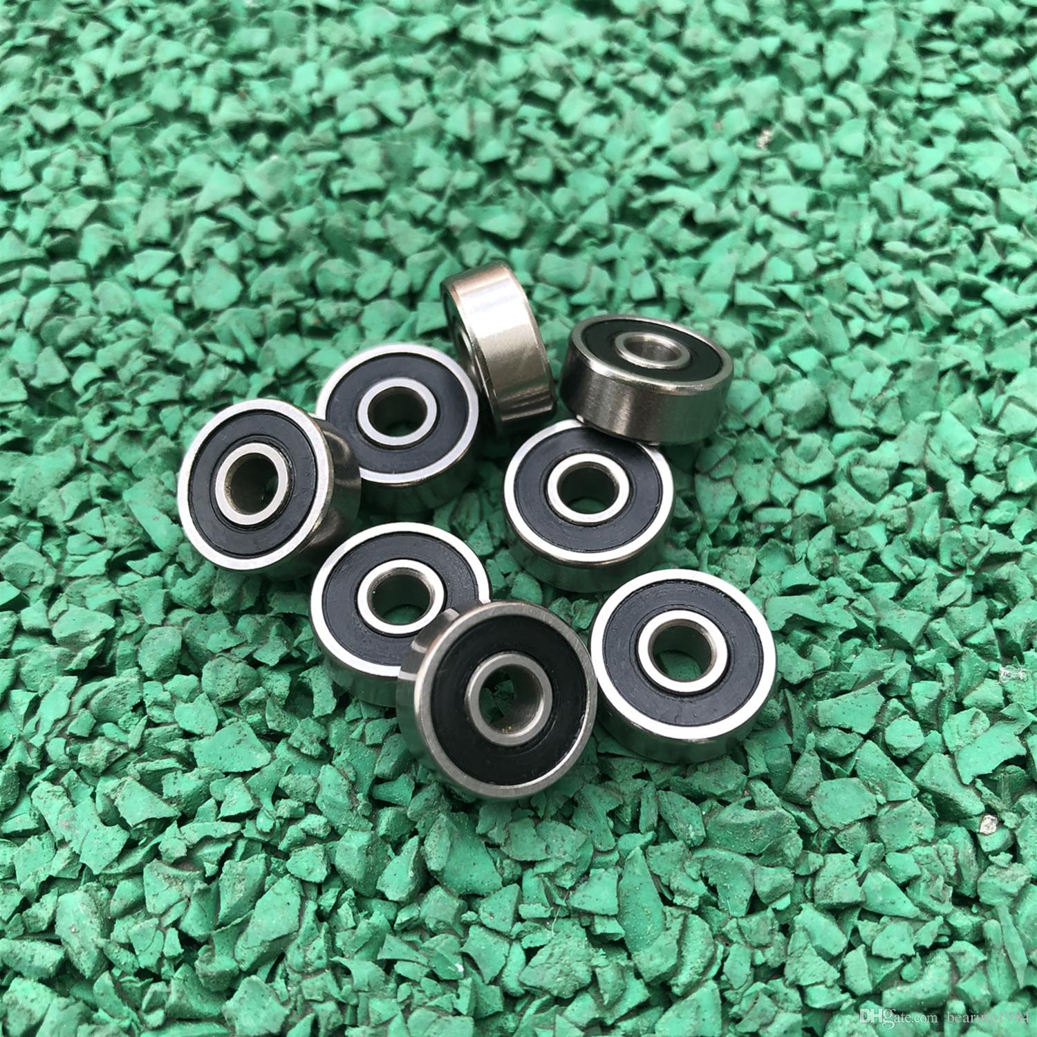 50pcs 628-2RS 8x24x8 miniature rubber sealed deep groove ball bearing 628RS 8*24*8 mm