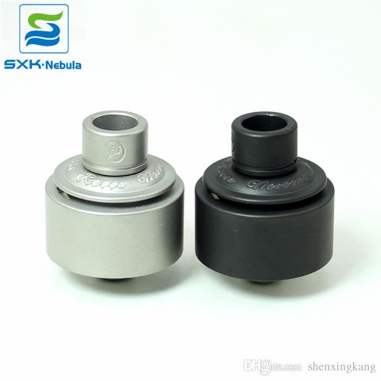 Ücretsiz Kargo Yeni Ürünler SXK Şair Rda Atomzier SS / Siyah Vape Kalite Buharlaştırıcı stokta var