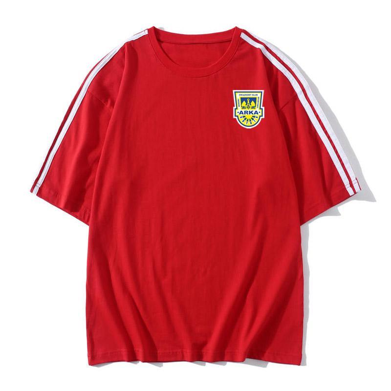 2020 Arka Gdynia Sport T-shirts exquis conception T-shirt imprimé T-shirt de football manches courtes mode classique womenn chemises d'homme