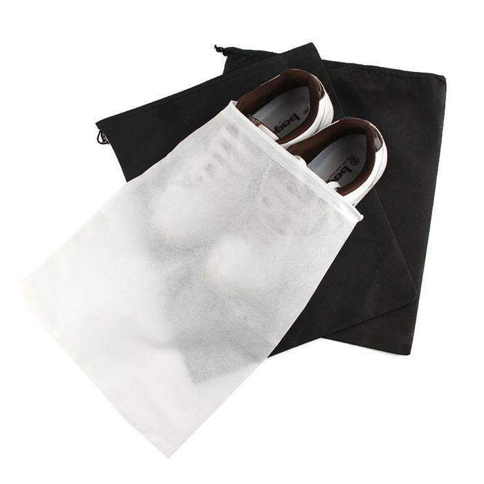Voyage unique de chaussures paquet de haute qualité épaississant sac de rangement pour chaussures en tissu non tissé peut stocker une variété de chaussures IC807