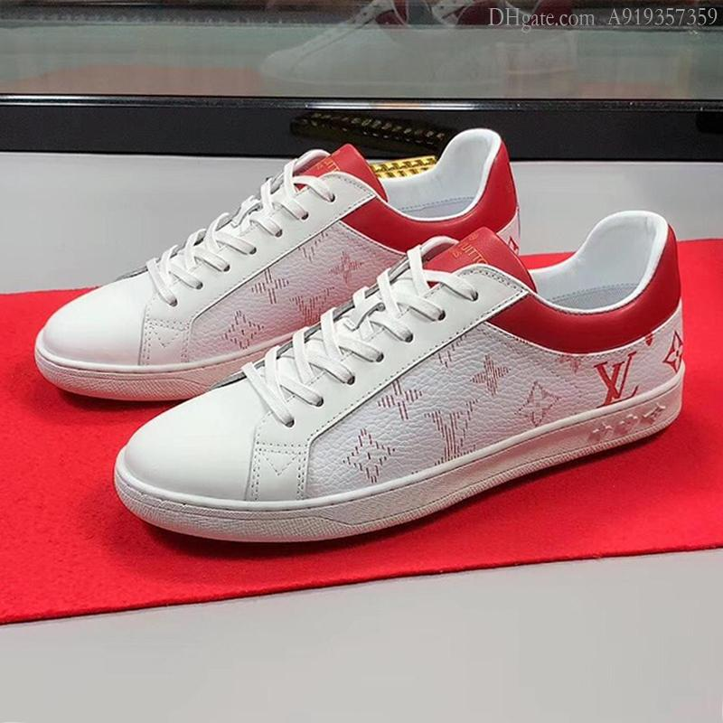 Scarpe moda classica Lussemburgo da tennis degli uomini s traspirante primavera e l'estate più il formato Lace-up pattini degli uomini comodi Chunky Sneakers