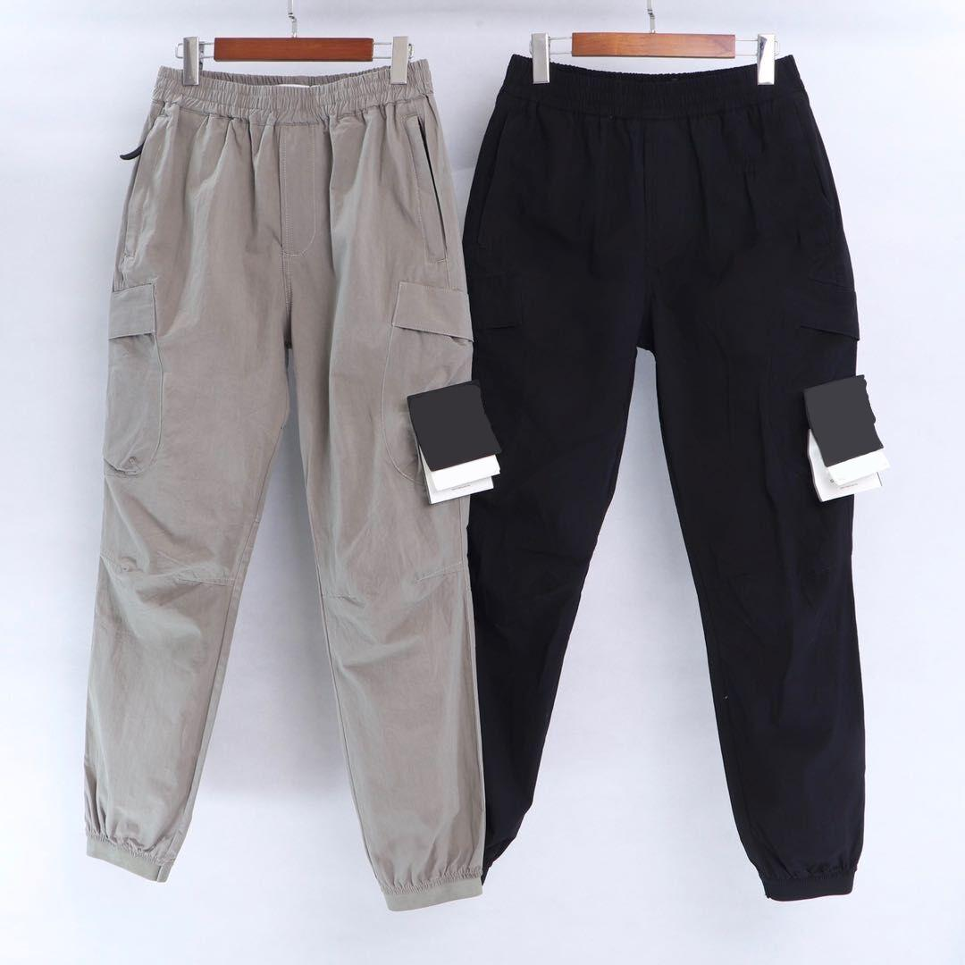 CP topstoney PIRATA COMPANY konng gonng Primavera e verão nova moda marca retro Leggings corrida de multi bolso macacão homens moda masculina