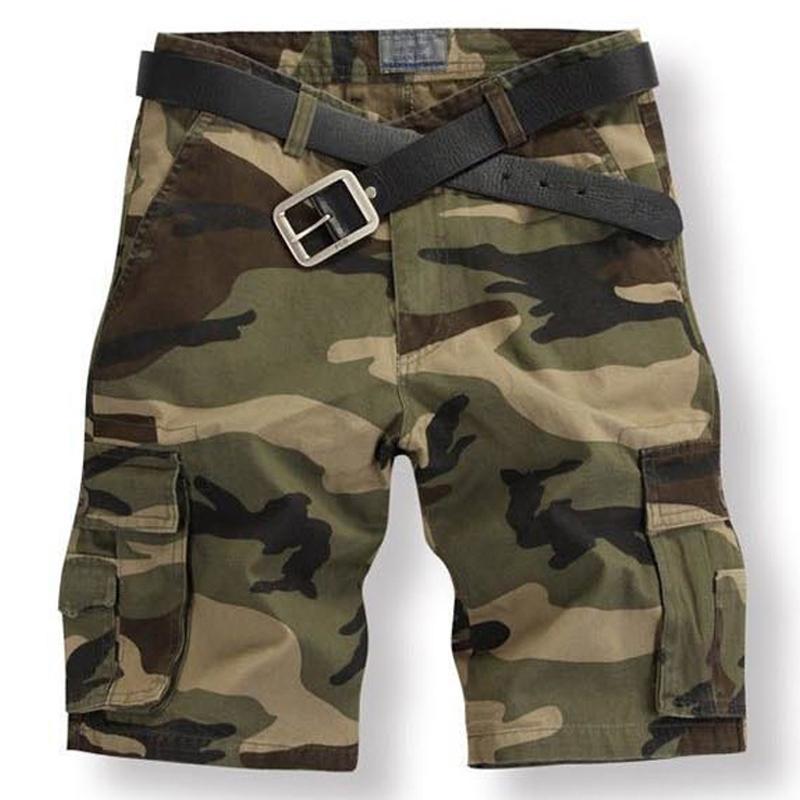 Shorts hommes joggeurs de mode de marque camouflage corps camo courtes hommes shorts cargo d'été remise en forme courte mens masculino