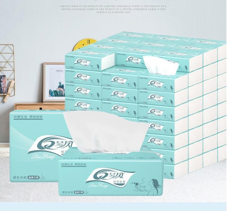 Log Tissue Paper, Facial Tissue Paper, Napkins, Toilet Paper, Napkins for Domestic Restaurants
