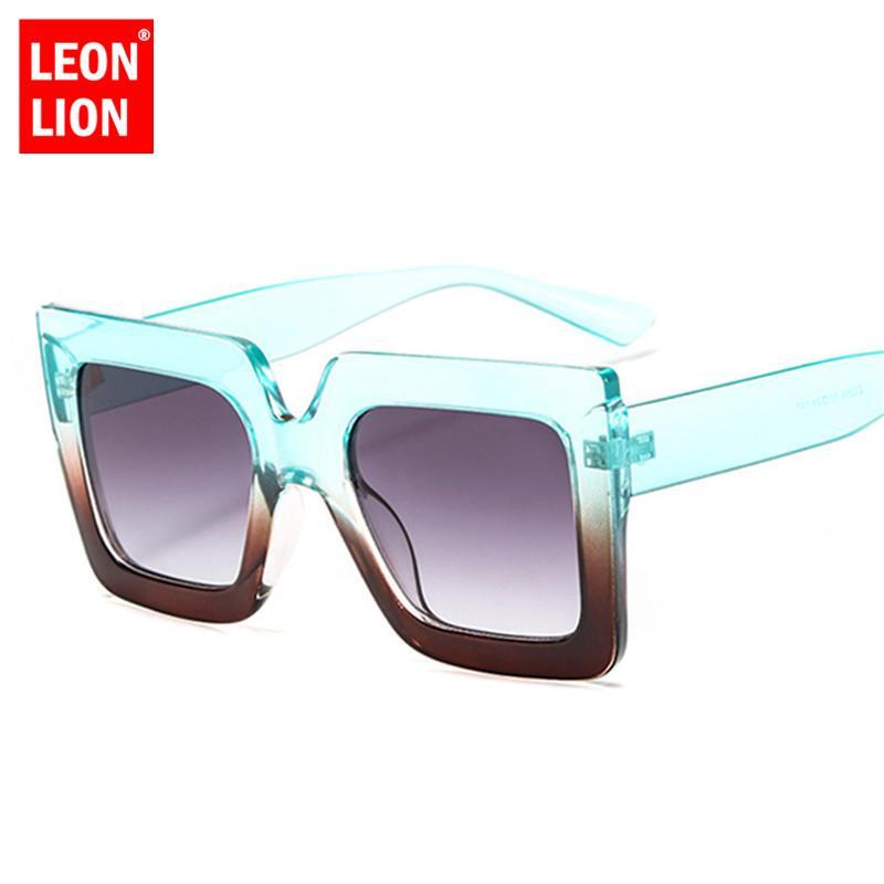 2020 Рамки квадратных солнцезащитных очков женщины цвета конфет Роскошных очки Классического Путешествие Street Удар Goggle UV400
