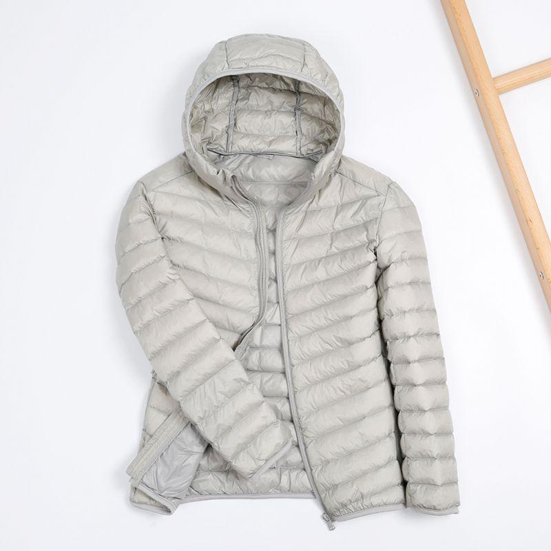 2019 Autumn Puffer Duck Down Jacket Ultra Light Men 90% Coat Waterproof Down Parkas Fashion Mens Collar Outerwear Coat