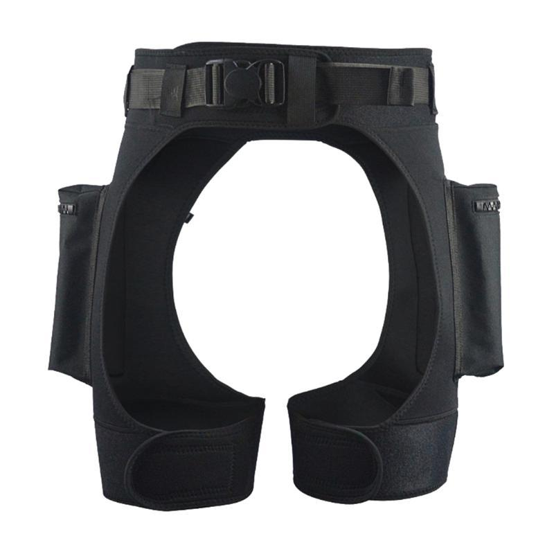 Flexible Wetsuit Pants with Quick Release Buckle Diving Shorts with Pockets