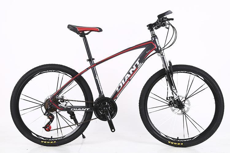 Fabrika Doğrudan 26-İnç Değişken Hız Dağ Bisikleti Şok Emici Alüminyum Alaşım Bisiklet 21/24/27 Hız Disk Fren Öğrenci Bisiklet
